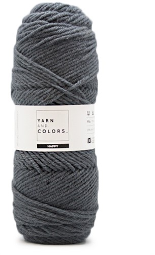 Yarn and Colors Maxi Cardigan Crochet Kit 13 L/XL Graphite