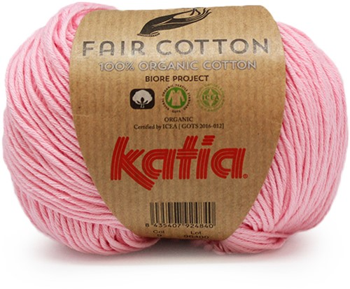 Katia Fair Cotton 09 Rose