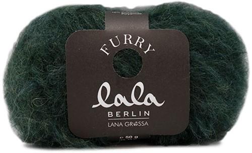 Lana Grossa Lala Berlin Furry 009 Petrol Green