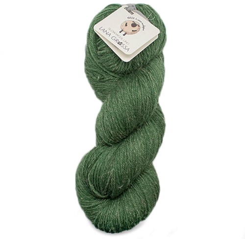 Lana Grossa Slow Wool Lino 009 Green