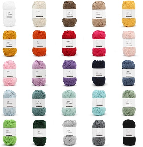 Yarn and Colors Must-Have 25 Colors Yarn Pack 1 Mixed