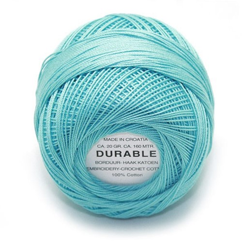 Durable Embroidery and Crochet cotton 1002 Aqua