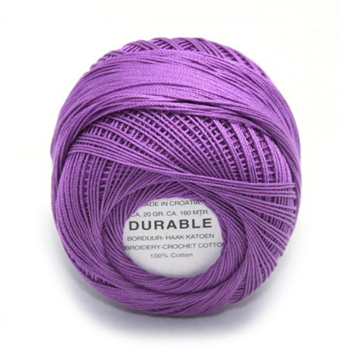 Durable Embroidery and Crochet cotton 1005 Purple