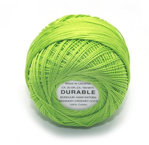 Durable Embroidery and Crochet cotton 1008 Grass Green
