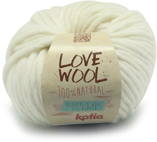 Katia Love Wool 100 Off White