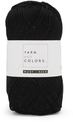 Yarn and Colors Must-have 100 Black