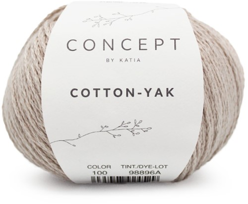 Katia Cotton-Yak 100 Beige