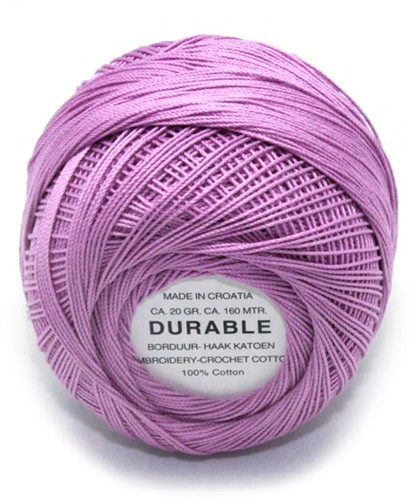 Durable Embroidery and Crochet cotton 1014 Lilac