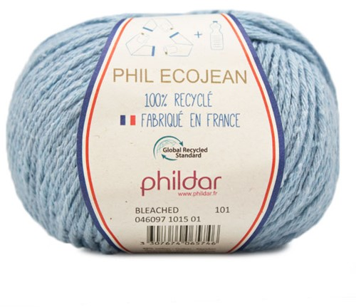 Phildar Phil Ecojean 1015 Bleached