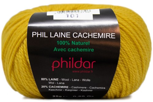 Phildar Phil Laine Cachemire 1019 Gold