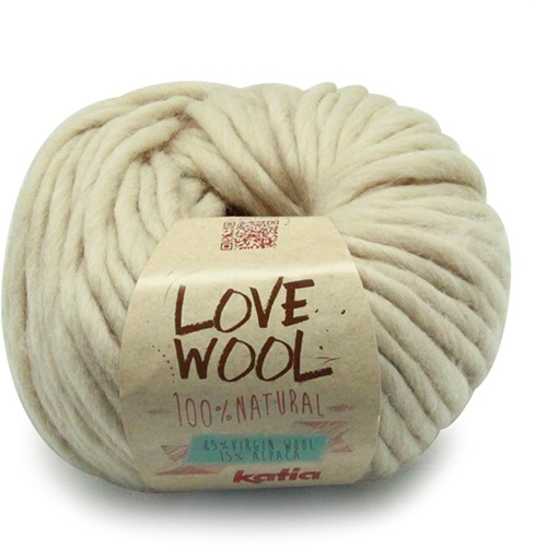 Katia Love Wool 101 Light beige