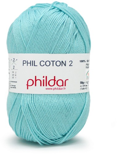 Phildar Phil Coton 2 1362 Cyan