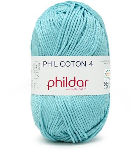 Phildar Phil Coton 4 1315 Cyan
