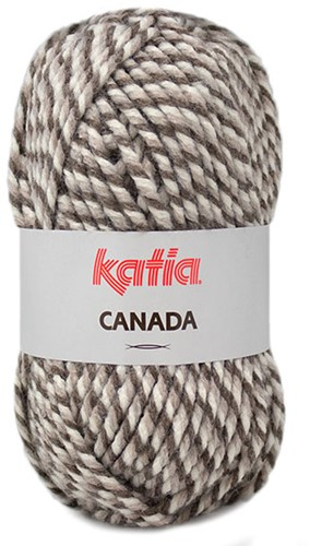 Katia Canada 101 Brown - Beige - Off white