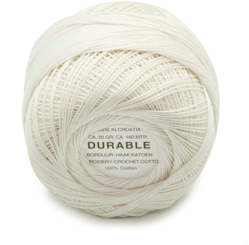 Durable Embroidery and Crochet cotton 1020 Offwhite