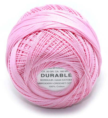 Durable Embroidery and Crochet cotton 1026 Candy Pink
