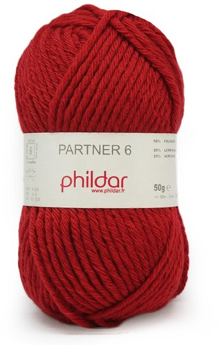 Phildar Partner 6 1127 Pavot