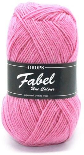 Drops Fabel Uni Colour 102 Pink