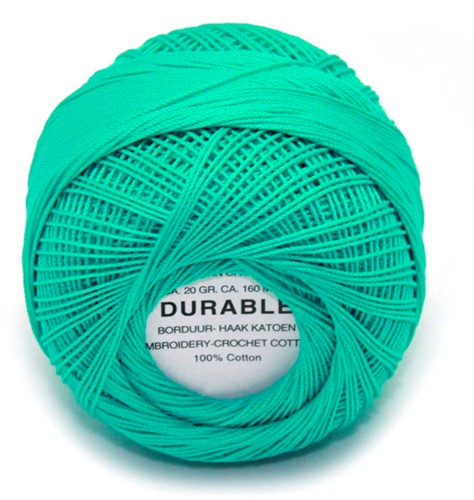 Durable Embroidery and Crochet cotton 1031 Emerald