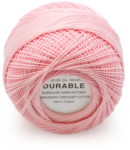 Durable Embroidery and Crochet cotton 1034 Baby Pink