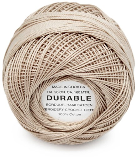 Durable Embroidery and Crochet cotton 1038 Linen