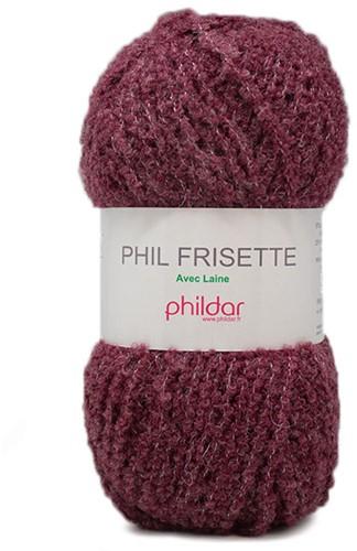 Phildar Phil Frisette 1038 Grenat