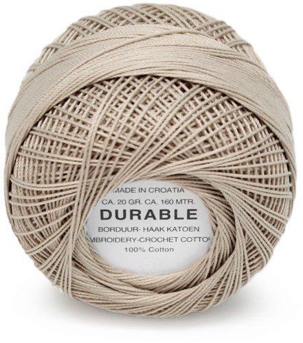 Durable Embroidery and Crochet cotton 1039 Dark Sand