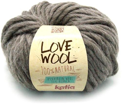 Katia Love Wool 103 Dark brown