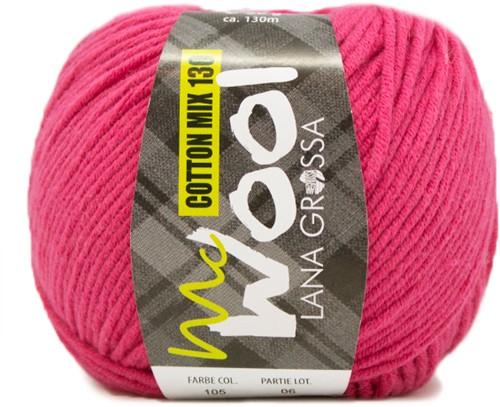 Lana Grossa Cotton Mix 130 105 Pink