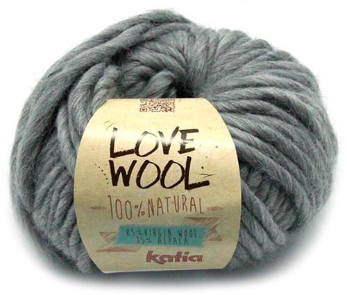 Katia Love Wool 106 Light grey