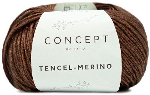 Katia Tencel-Merino 106 Brown black