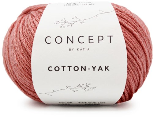 Katia Cotton-Yak 109 Coral