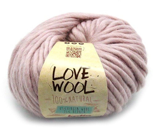 Katia Love Wool 109 Medium rose