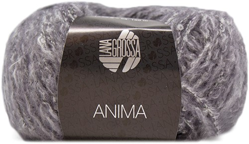 Lana Grossa Anima 10 Dark Grey Mottled