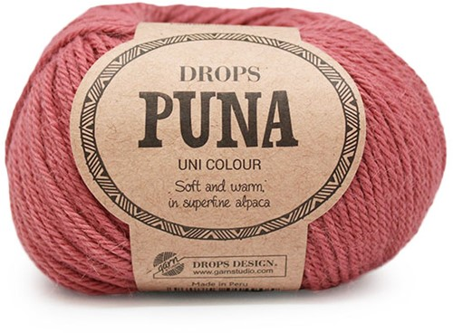 Drops Puna Uni Colour 10 Old Pink