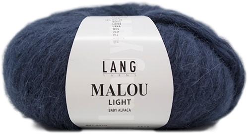Lang Yarns Malou Light 10 Steel Blue