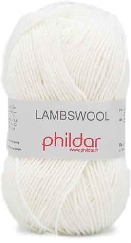 Phildar Lambswool 1225 Blanc
