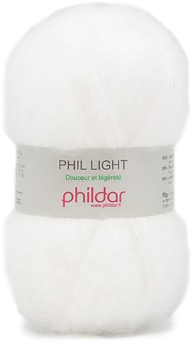 Phildar Phil Light 1225 Blanc