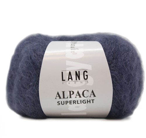 Lang Yarns Alpaca Superlight 10 Steel