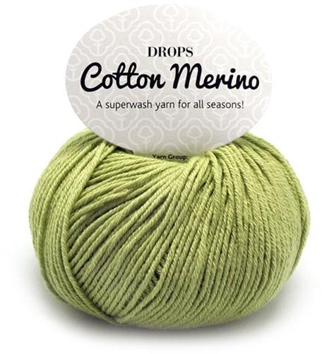 Drops Cotton Merino Uni Colour 10 Pistachio
