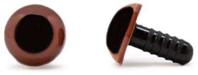 Safety Eyes Brown 10mm per pair