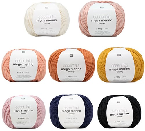 Flower Pillow Coloured Punch Needle Kit 1