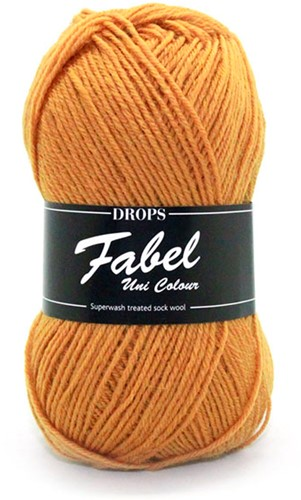 Drops Fabel Uni Colour 111 Mustard