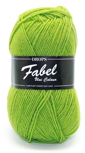 Drops Fabel Uni Colour 112 Apple-green