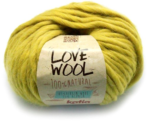 Katia Love Wool 112 Mustard