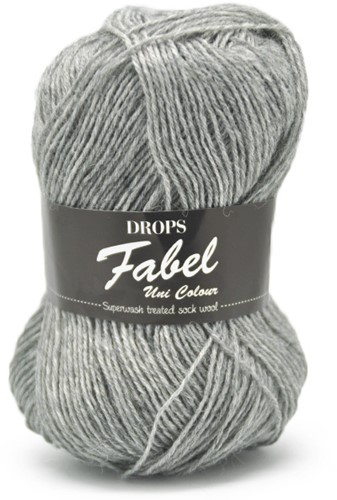 Drops Fabel Uni Colour 115 Light-grey