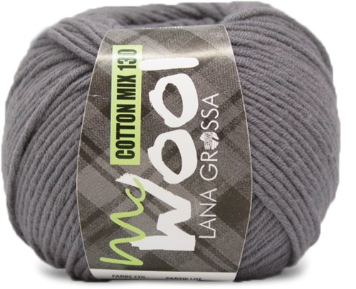 Lana Grossa Cotton Mix 130 115 Gray