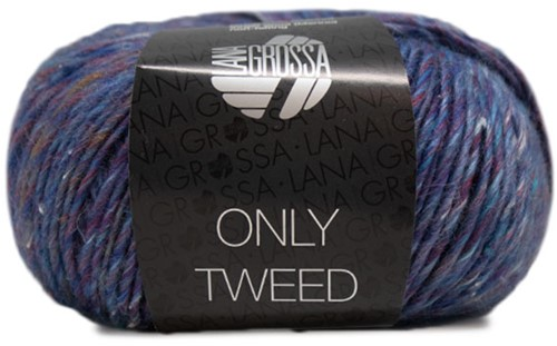 Lana Grossa Only Tweed 115 Blue / Purple / Wine Red / Turquoise