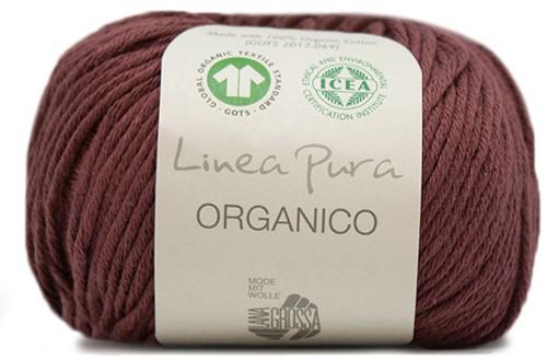 Lana Grossa Organico Uni 117 Chestnut