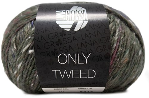 Lana Grossa Only Tweed 117 Grey / Green / Khaki / Nature